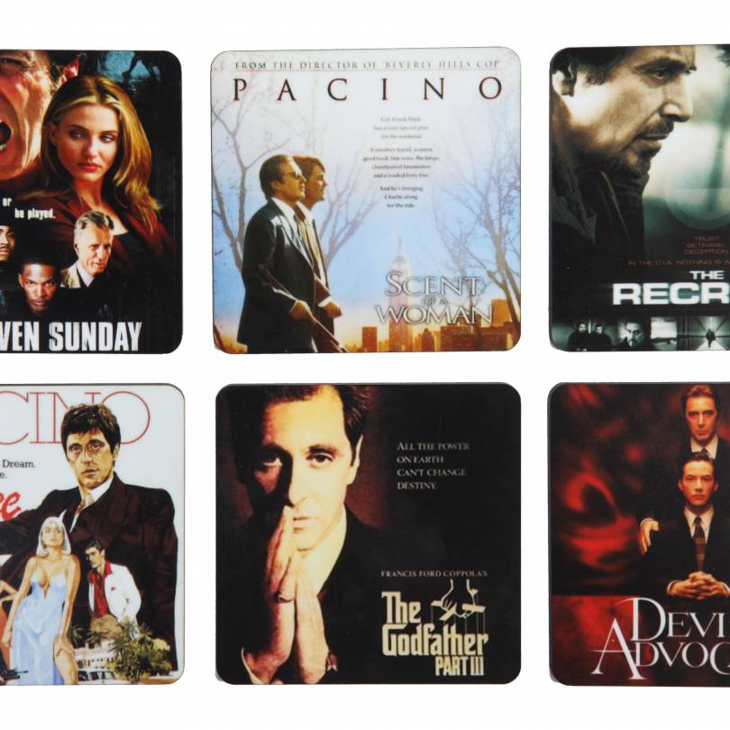 Al Pacino Tribute Coasters