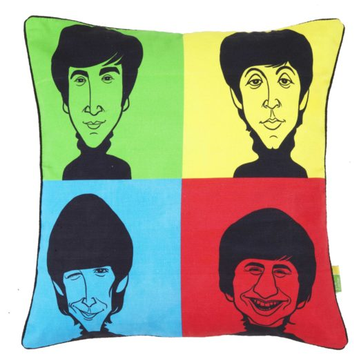 Beatles Tribute Cushion Cover