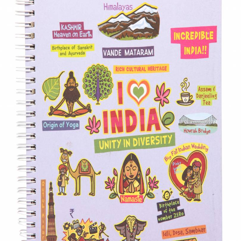 Small India Ruled Exercise Book