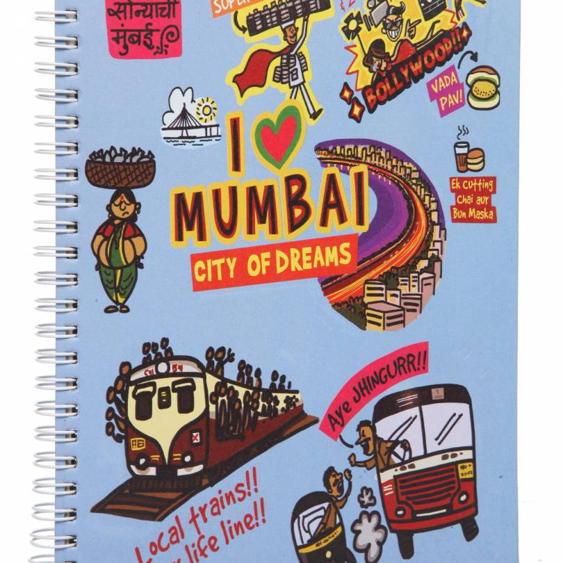 Small Mumbai Ruled Exercise Book