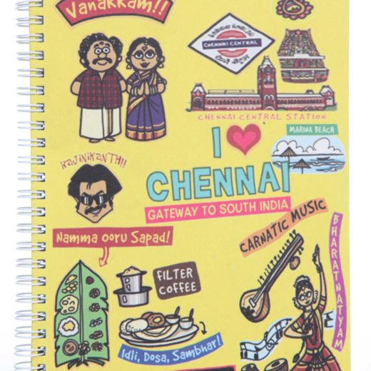 Small Chennai Ruled Exercise Book
