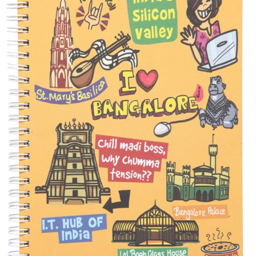 Small Bangalore Ruled Exercise Book