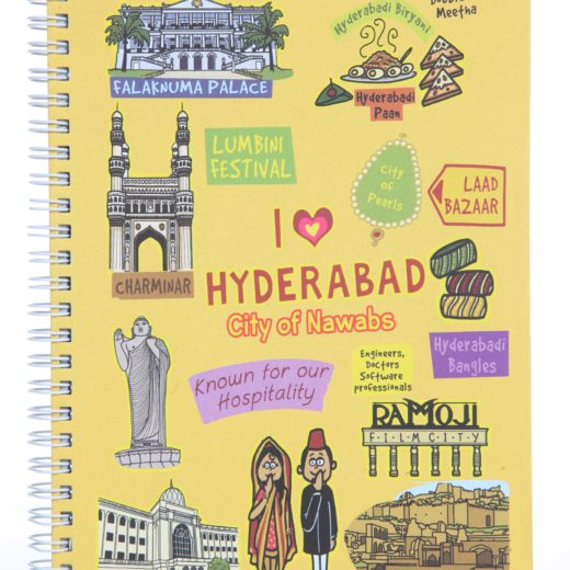 Small Hyderabad Ruled Exercise Book