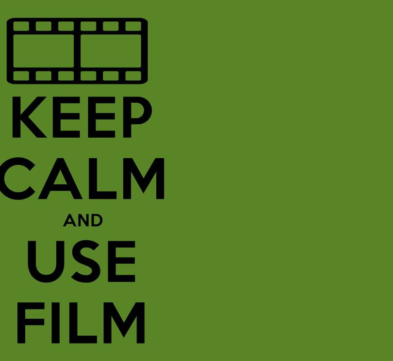 Keep Calm and use Film Mousepad design.