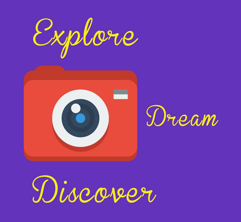 Explore Dream Discover Photographer Life Mousepad Design.