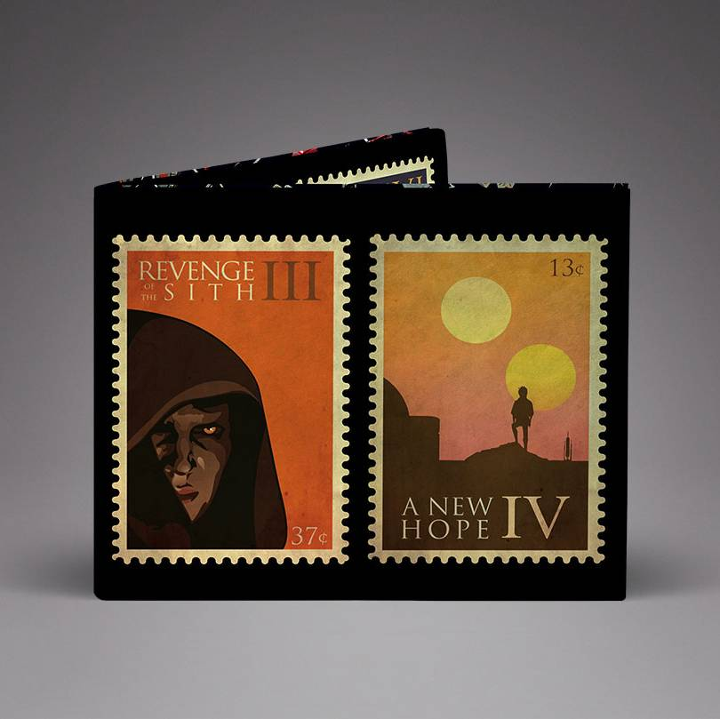 Star Wars Stamps Unisex Wallets