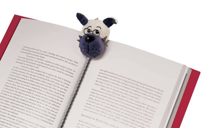 Book-Tails Bookmarks - Dog