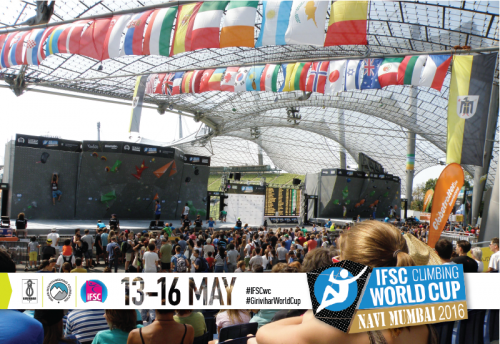 IFSC World cup at Olympiapark München