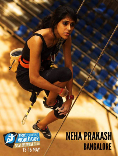 Neha-Prakash-Indian-women-climber-hobbygiri