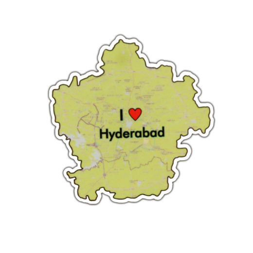 I Love Hyderabad Magnet