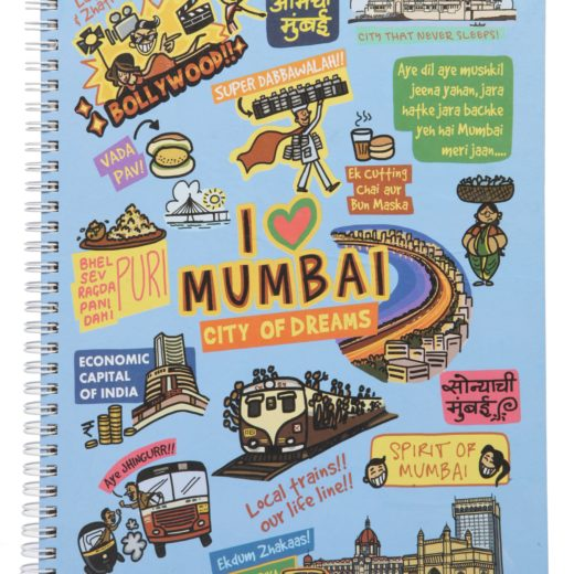 Mumbai Ruled Exercise Book