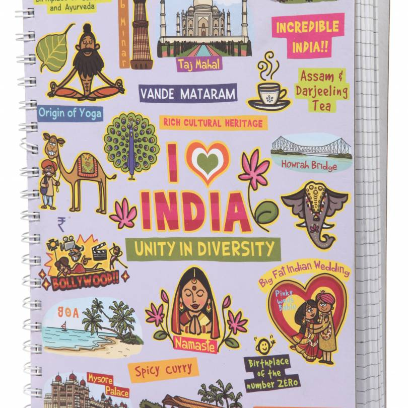 India Ruled Exercise Book