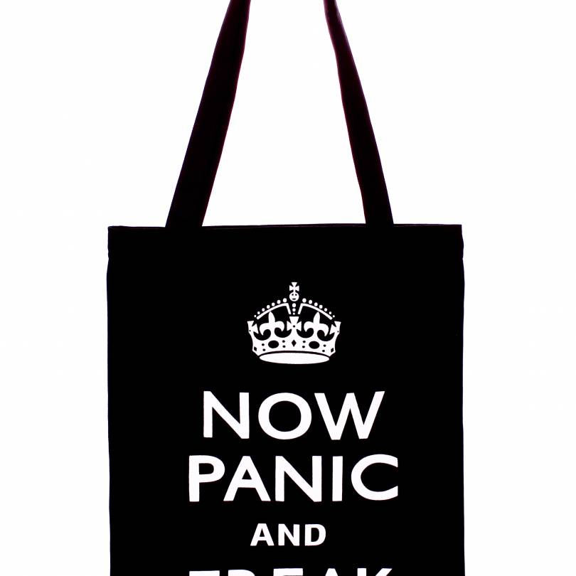 Now Panic Cotton Bag