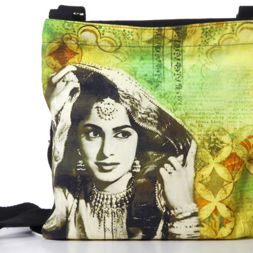 Waheeda Rehman Cotton Sling Bag