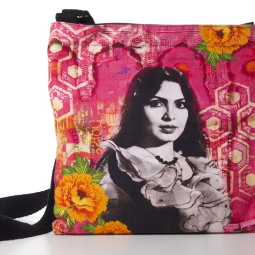 Parveen Babi Cotton Sling Bag