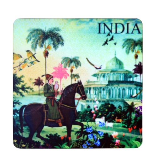 Indian Art Horse Magnet