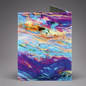 Color Trip Unisex Slim Wallet