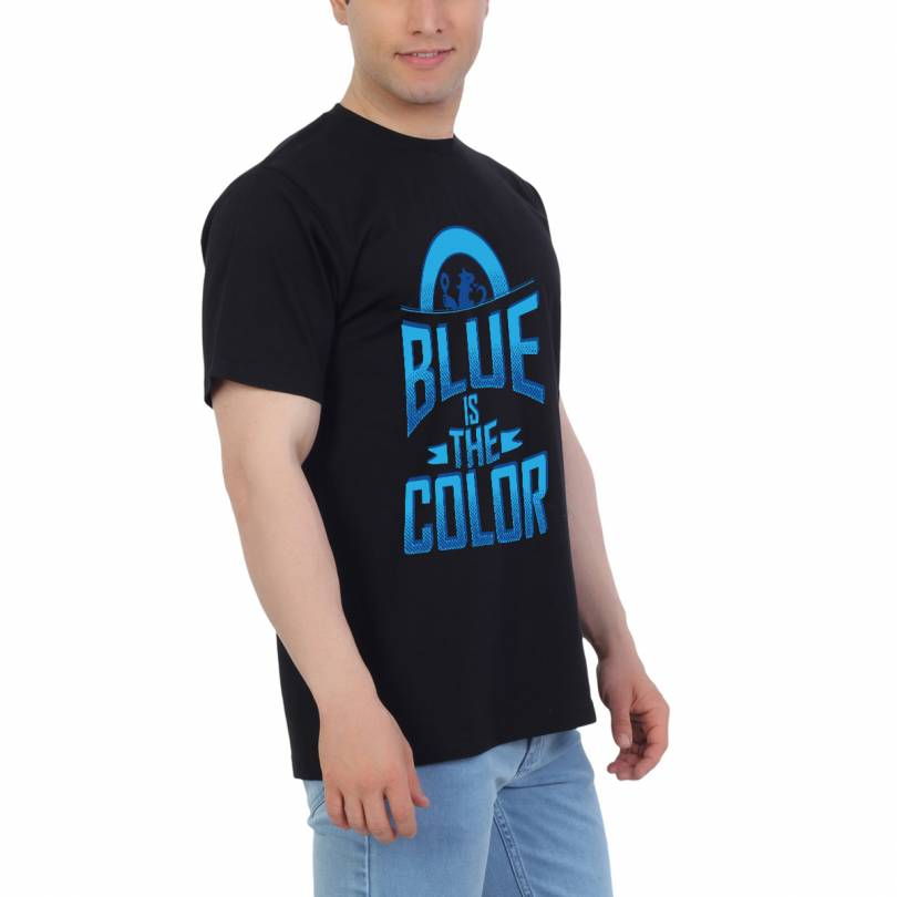 EETEE Chelsea Blue Is the Color Football T-shirt
