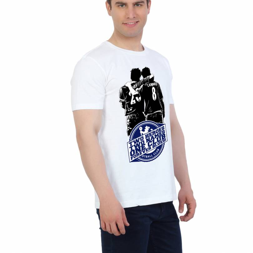 EETEE Chelsea Two Heroes White T-shirt