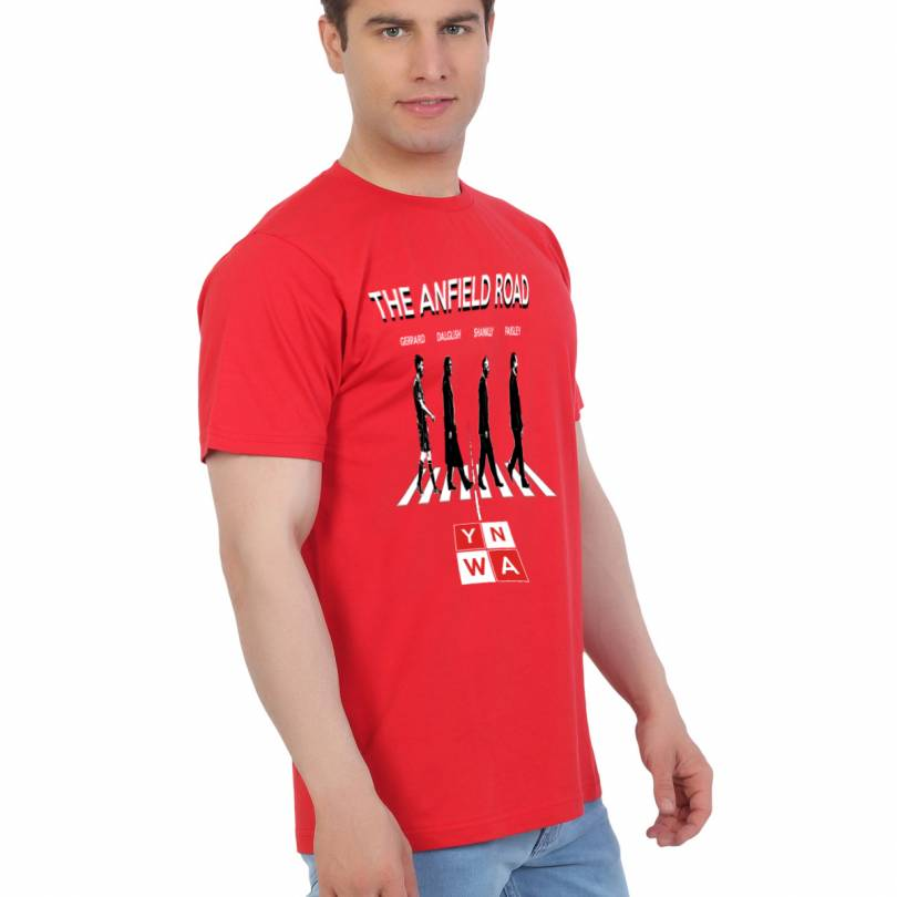 EETEE Liverpool Anfield Road Red T-shirt