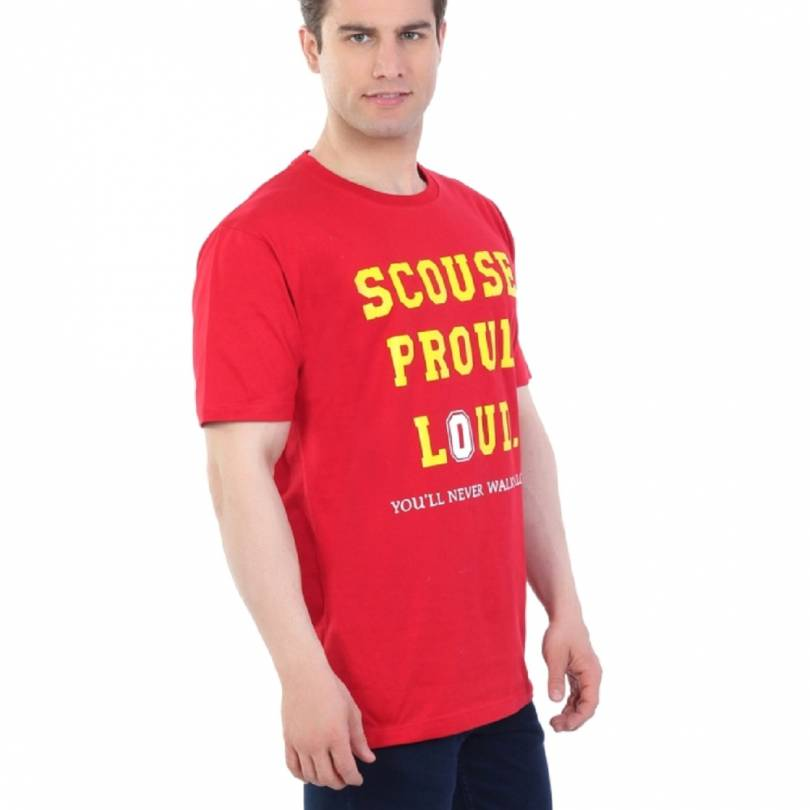 EETEE Liverpool Scouse Proud Loud Red T-shirt