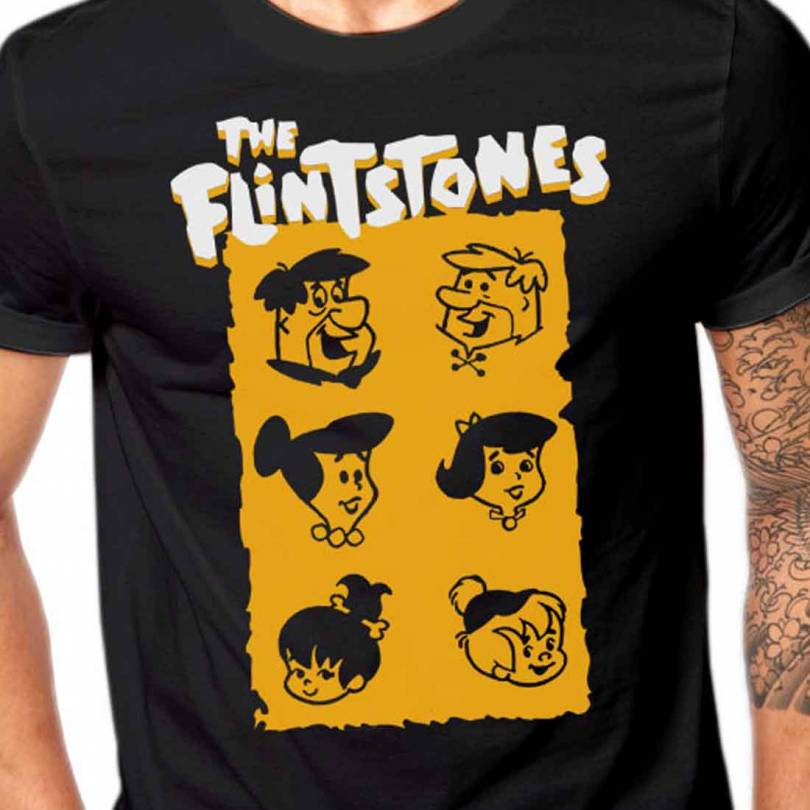The Flintstones Cartoon Fan-Art  T-shirt