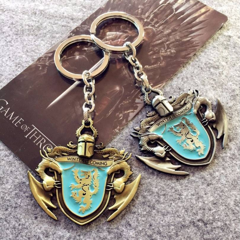 Game of thrones House Stark Segil Limited Edition Keychains