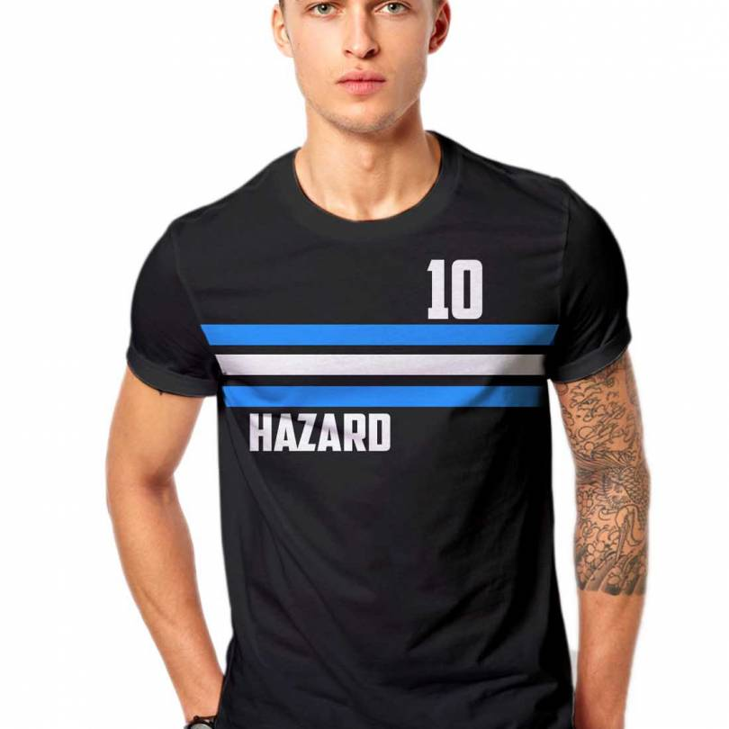 Eden Hazard Chelsea Football Fan-Art  T-shirt