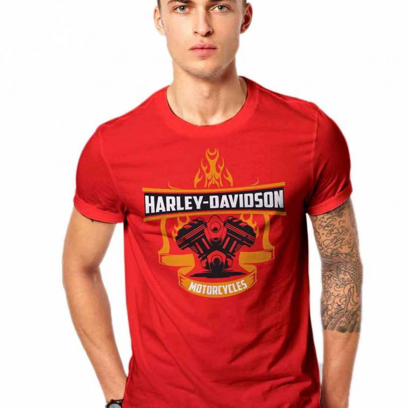 Harley Davison Bike Bullet Fan-Art Unisex  T-shirt