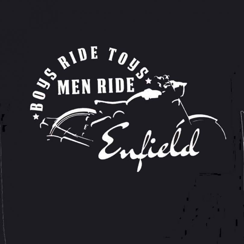 Boys Ride Toys Royal Enfield Fan-Art  T-shirt