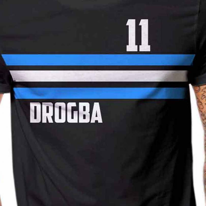 Drogba Montreal Impact Football Fan-Art  T-shirt