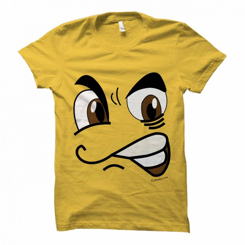 Angry Face Tshirt