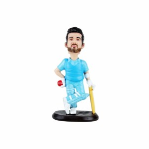 Ajinkya Rahane Batsman Wowheads Bobbleheads ICC Indian cricketer player (Resin Made)