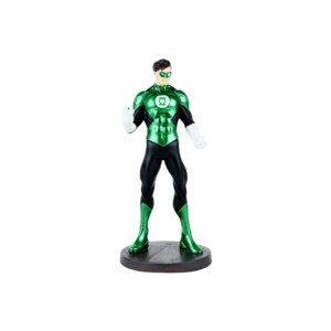 Green Lantern Torch Ring Standing Wowheads Action Figurine Statue collectible (NON Bobblehead) Warner DC Comics (Fragile Resin made)