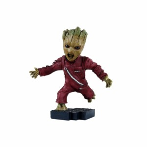 Baby Groot Angry version Wowheads Miniature Figurine Décor (NON Bobblehead) Marvel Guardians of galaxy (Fragile Resin made)