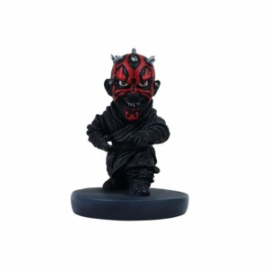 Star wars Darth maul Wowheads Caricature (NON-Bobblehead) Lucas disney Movie (Fragile Resin made)