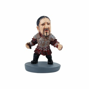 Rusell crow Gladiator Caricature Figurines Wowheads Hollywood Fighter (Fragile Resin made)