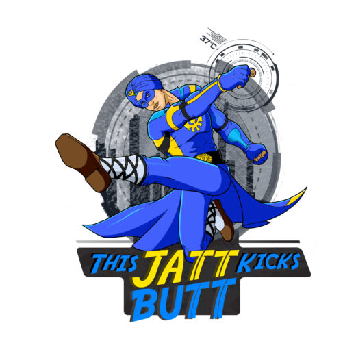 A Flying Jatt poster Wowheads- Jatt Kick Butt