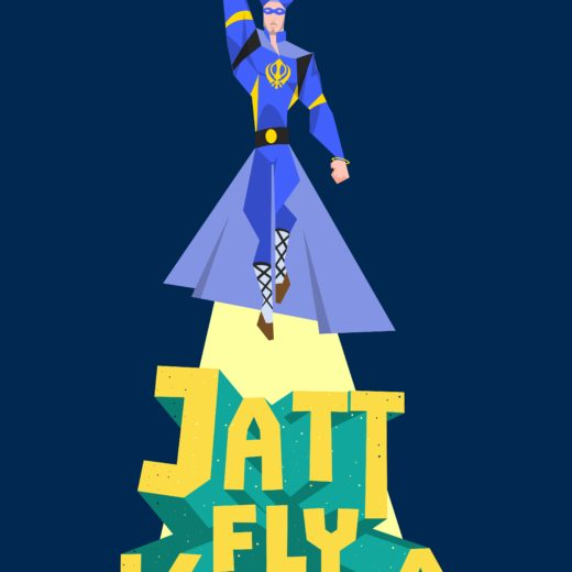 A Flying Jatt poster Wowheads- Jatt Fly Karda straight