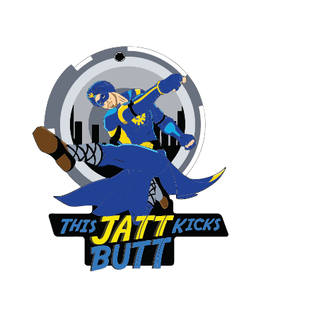 A Flying Jatt Magnet Wowheads: Jatt Kick Butt
