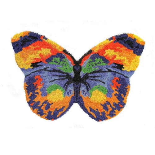 Colourful Butterfly Doormat