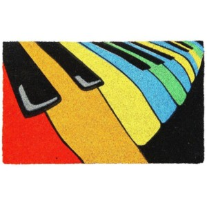 Colourful Piano Doormat