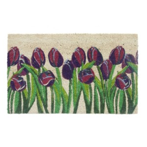 Colourful Tulips Doormat