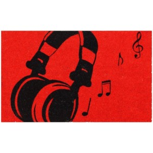 Musical Headset Doormat