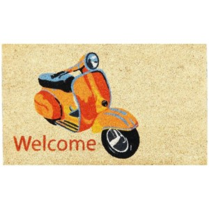 Vintage Scooter Doormat
