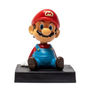 Mario Bobbleheads Car decoration Nintendo Games Handmade Fragile