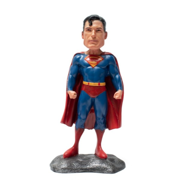 Superman DC Comics 7inch Figurine Handmade Fragile