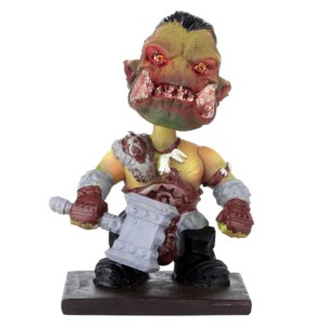 Orc World of Warcraft Bobblehead Handmade Fragile