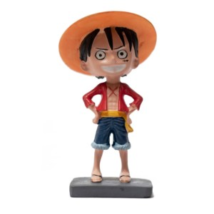 Luffy 6 inch classic Bobblehead One Piece Handmade Fragile