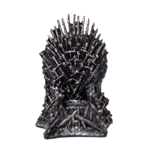 Throne chair miniature GOT Handmade Fragile